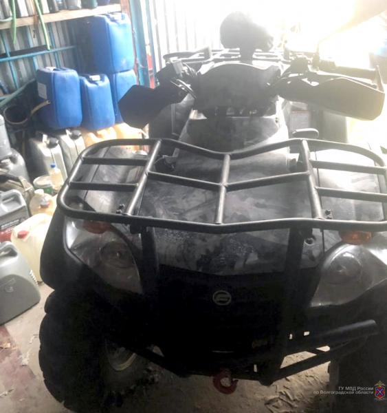 Житель Ростовской области попал в больницу Волгограда, катаясь на квадроцикле