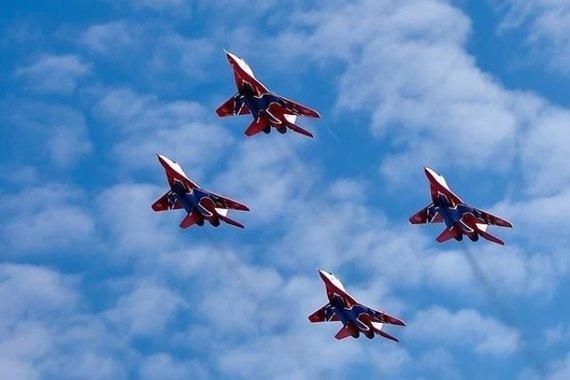 150 тысяч волгоградцев посмотрели авиашоу легендарных «Стрижей»