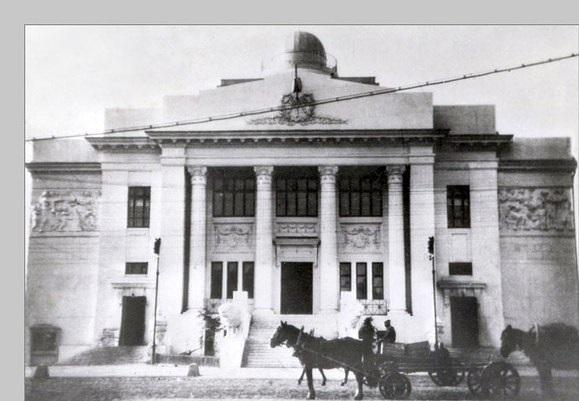 Здание НЭТа «помнит» себя еще в годы Царицына