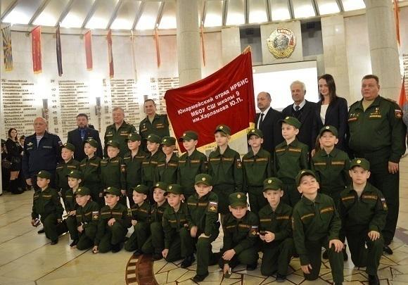 Еще 90 школьников Волгоградской области вступили вряды «Юнармии»