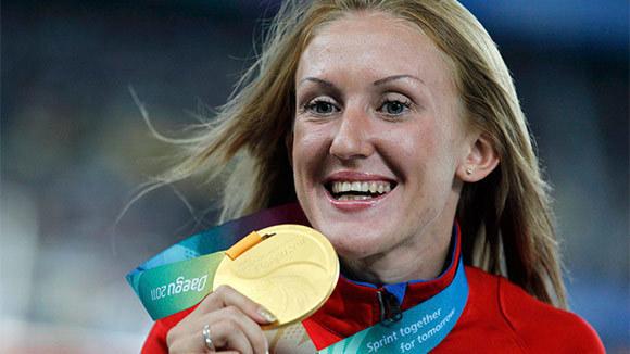 Волгоградская легкоатлетка стала золотой медалисткой Олимпиады