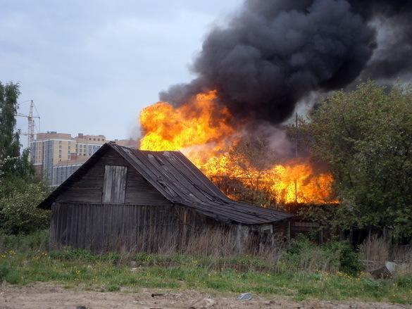 Напожаре под Волгоградом сгорел 79-летний старик