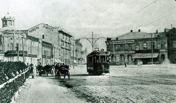 Что было в Царицыне на месте современного Ворошиловского торгового центра