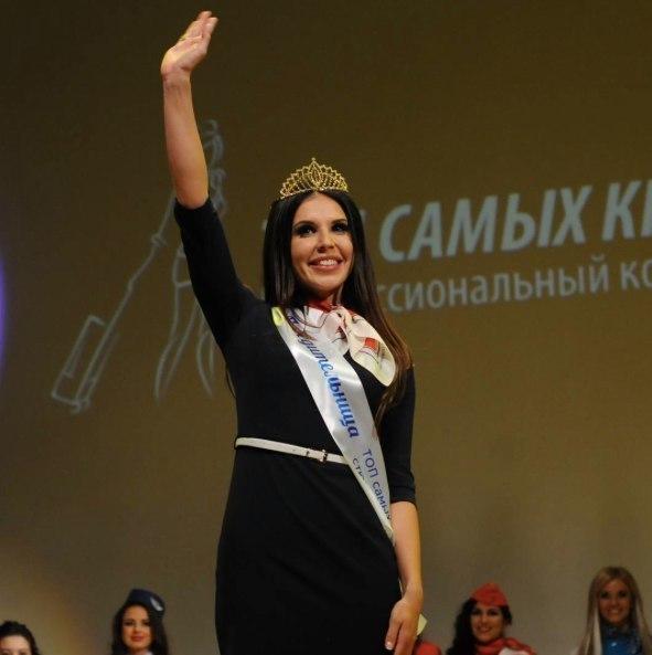 Уральские стюардессы взяли бронзу испецприз навсероссийском конкурсе красоты