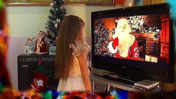 Телеканал Деда Мороза заработал для жителей Волгограда