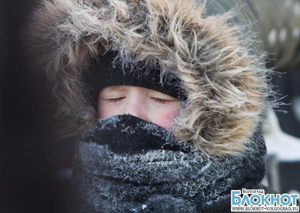 В Волгограде школьники из-за морозов не будут учиться еще два дня