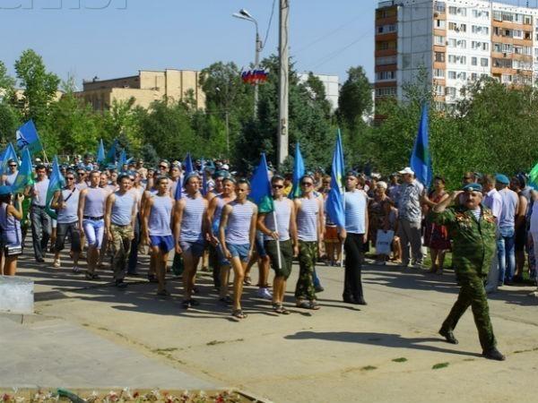 Волгоградские десантники отпразднуют День ВДВ