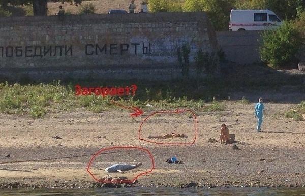 В центре Волгограда, у стены Родимцева, утонула женщина