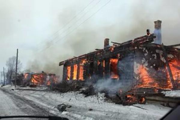 84-летний мужчина пострадал в пожаре в Волгоградской области