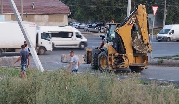 Автомобилистов Дар-горы «отрезали» от Волгограда со всех сторон