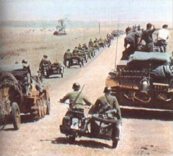 19 июля 1942 года - немецкие войска наступают в южном направлении