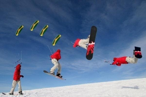 Спортсмены посоревнуются в умении летать по льду Волги