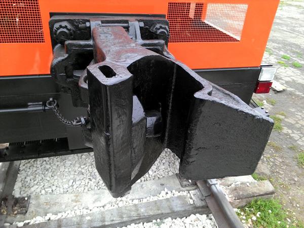 Транспортировка небольших грузов во время ремонта на железной дороге