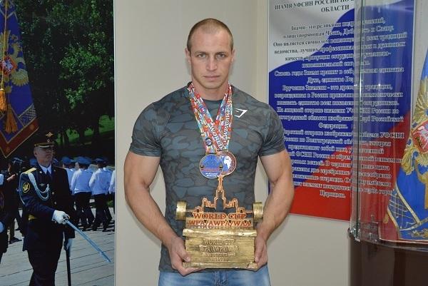 Спецназовец из Волгограда поднял штангу весом 267 килограмм