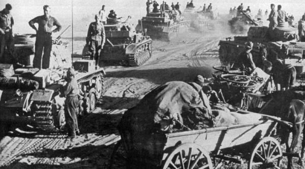 23 июля 1942 года - враг пытается прорвать оборону Сталинградского фронта