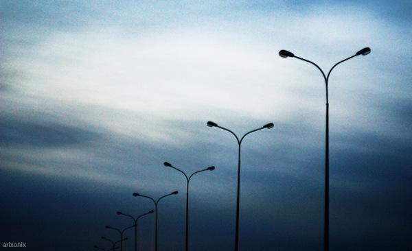Новая линия освещения заработала на улице Ангарская в Волгограде
