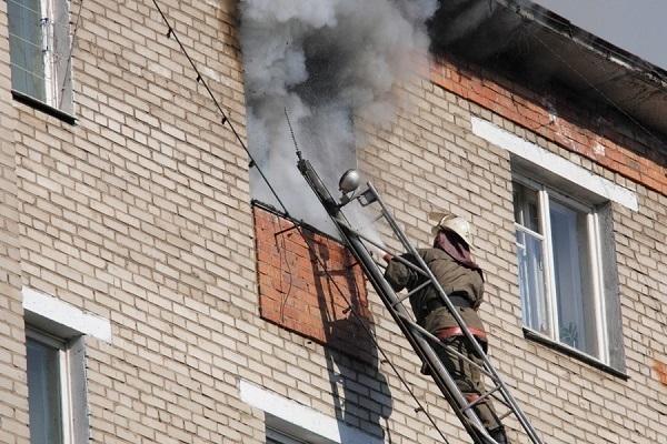 ВВолжском впожаре угорел неосторожный курильщик