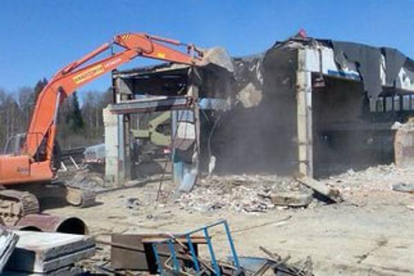 Две незаконные АЗС на севере Волгограда снесены