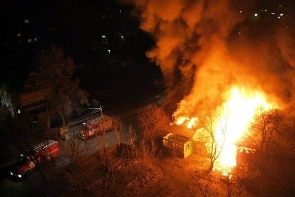 55-летний мужчин умер напожаре вИловлинском районе