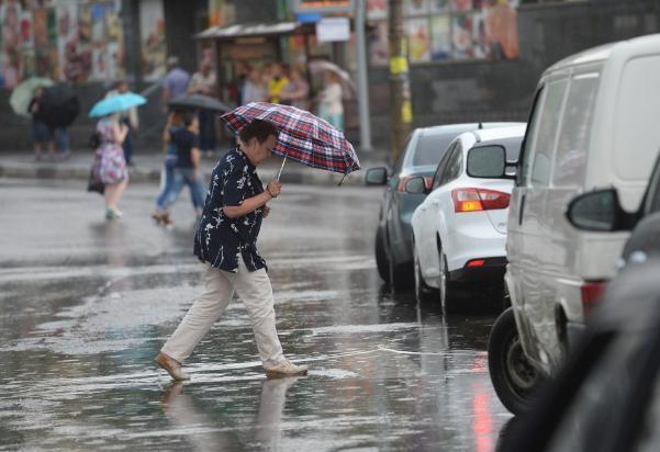 Трижды за день в Волгограде пройдет дождь