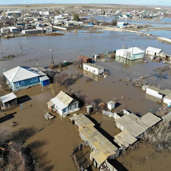 Город с 40-тысячным населением уходит под воду в Волгоградской области