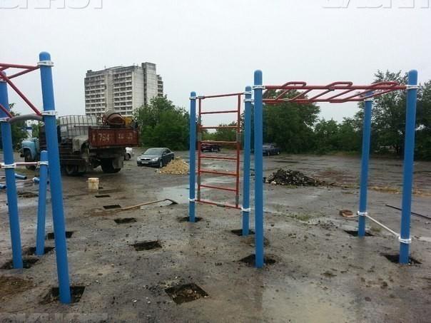 Исинбаева построит площадку!