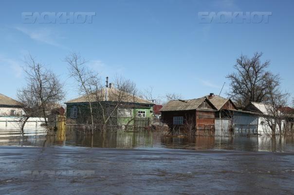 Паводок: вода поднялась на 14 сантиметров в Волгоградской области