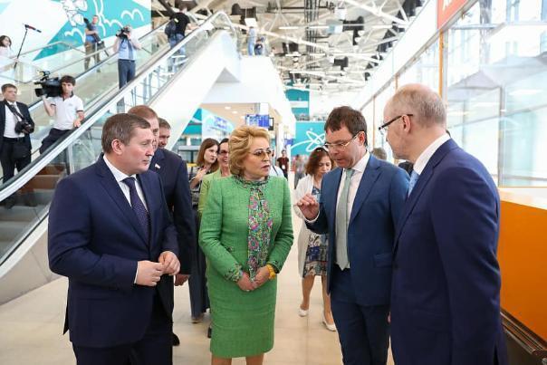 Спикер СФ Валентина Матвиенко призвала волгоградские власти начать работать