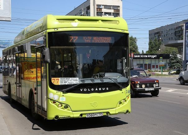 Пассажиры автобуса №77 вВолгограде смогут уезжать ранее