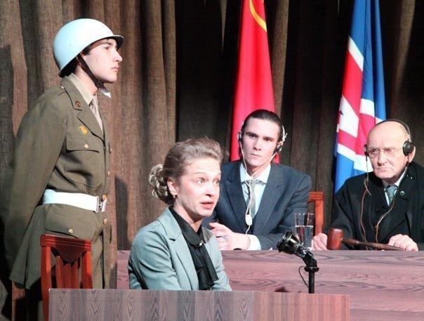 В Волгограде показали Нюрнбергский процесс