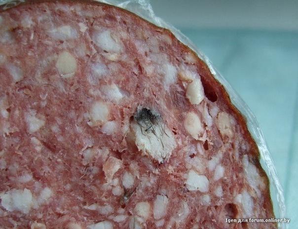 Волгоградка купила колбасу, нашпигованную чьими-то костями
