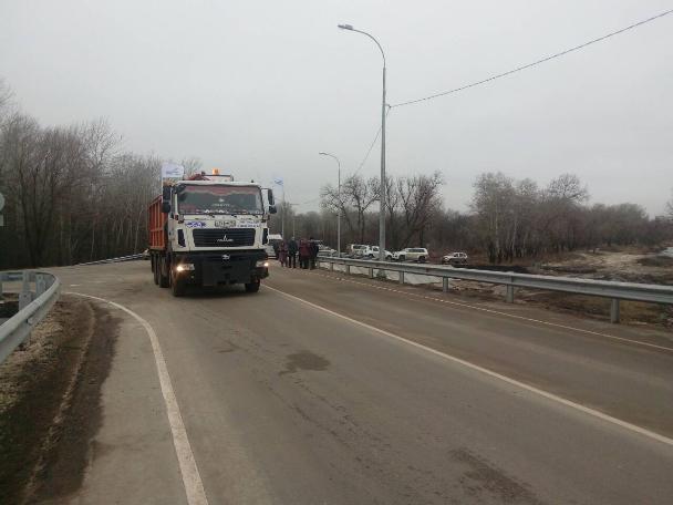 Вказачьем районе Волгоградской области построили мост