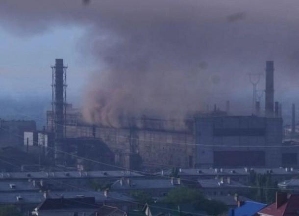 В Волгограде горел «Красный Октябрь»