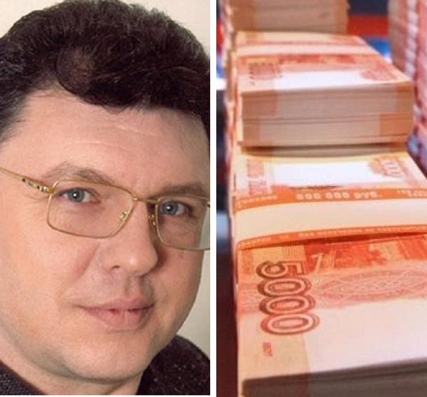 Подследственный волгоградский депутат Евгений Щур заработал за год 17,5 млн рублей