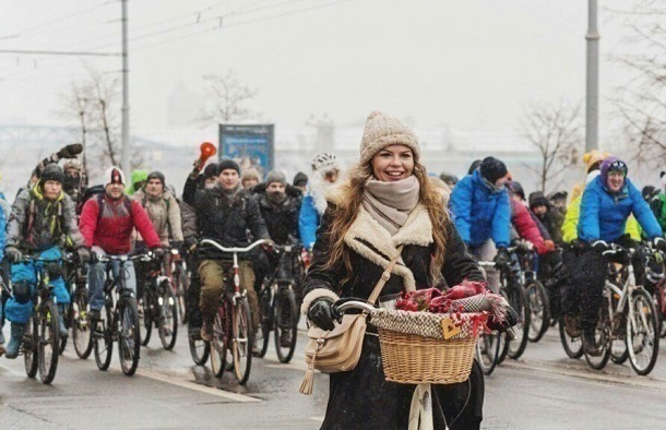 Волгоградцы вСтарый Новый год проведут зимний велопарад