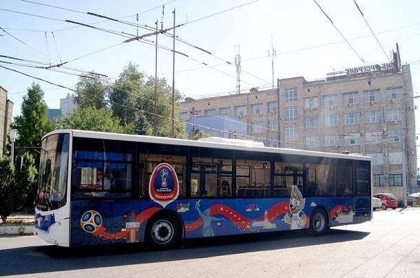 Общественный транспорт накануне ЧМ-2018 «заговорит» на иностранном языке в Волгограде