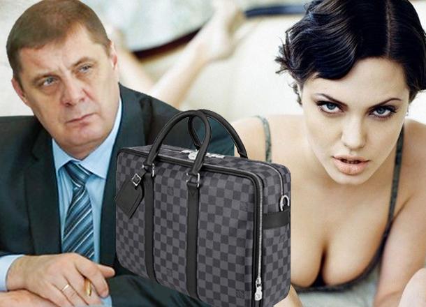Спикер Волгоградской облдумы купил сумку Louis Vuitton за 153 тысячи рублей