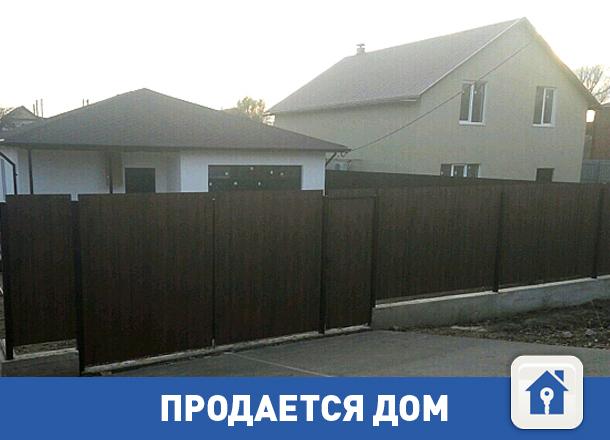Продается красивый частный дом под Волгоградом