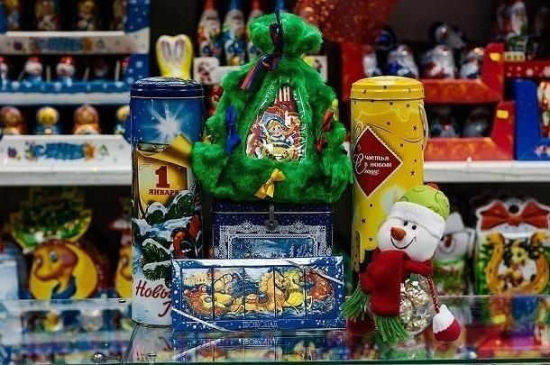 ВПодмосковье сняли спродажи около 20кг подозрительных новогодних подарков
