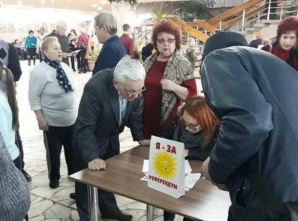 В Волгоградской области открыли 7 новых пунктов сбора подписей за референдум