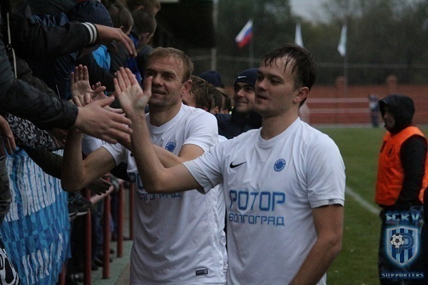 «Ротор-Волгоград» одержал победу вгостях уставропольского «Динамо»