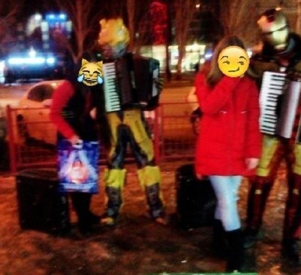 Волгоградский музыкант в костюме Трансформера объявлен в розыск