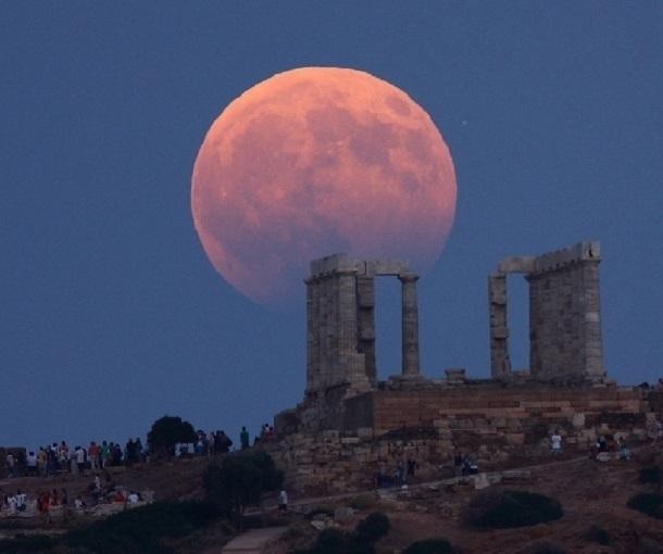 Вконце июля будет самое продолжительное лунное затмение икровавая луна