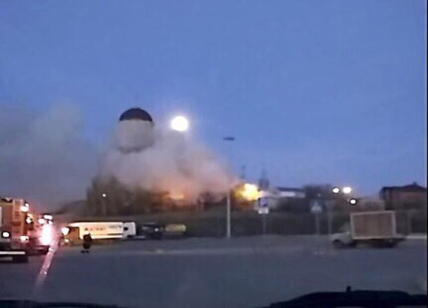 В канун Вербного воскресенья случился пожар на территории церкви