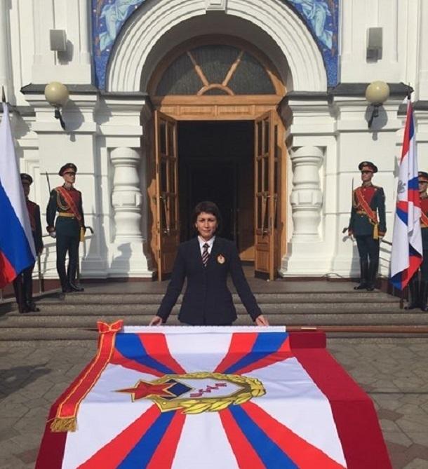 Волгоградская легкоатлетка, полковник ВС РФ Татьяна Лебедева отмечает свое 42-летие