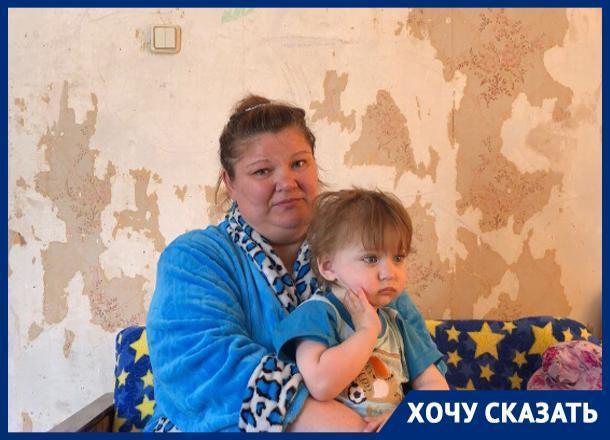 Инвалиду детства и ее ребёнку с пороком сердца помогают выжить неравнодушные волжане