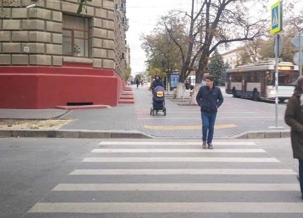 Волгоградец сфотографировал «зебру» здорового человека