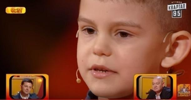 Шестилетний парень изВолгоградской области одержал победу 50 000 грн в«Рассмеши комика»