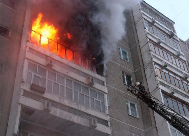 Пожар вдевятиэтажном доме произошел вВолгоградской области