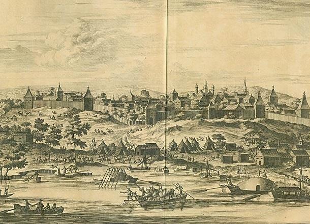 Своим появлением Царицын обязан калмыцким и татарским бандитам